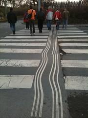 The roads of Prague