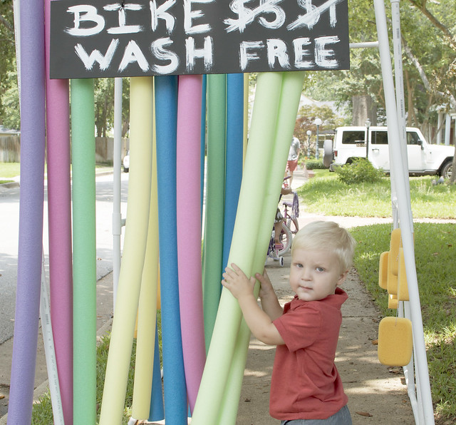 ryker in bike wash