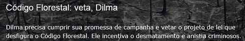 #VetaDilma - Promessa de campanha