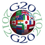 G20 2012, Color Flags Sphere - Illustration