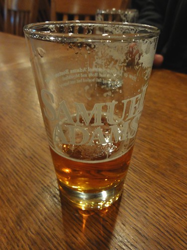 Samuel Adams Brewery Tour Tasting Glass