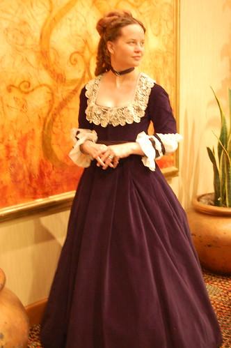 Princess Alexandra Inspired Dress
