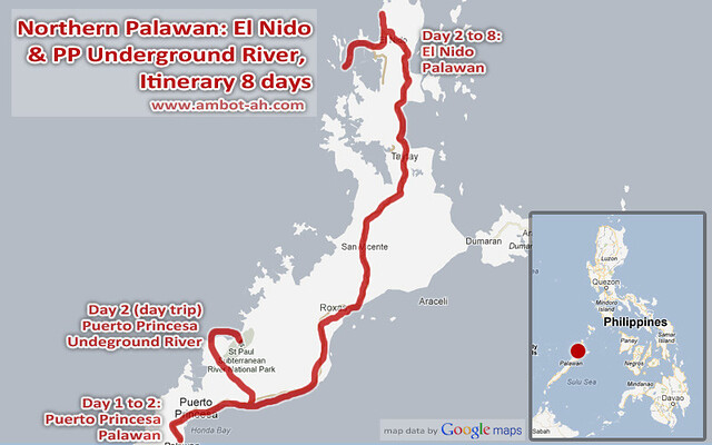 El Nido and Puerto Princesa Underground River Itinerary 8 days
