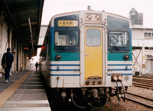 木更津駅にて