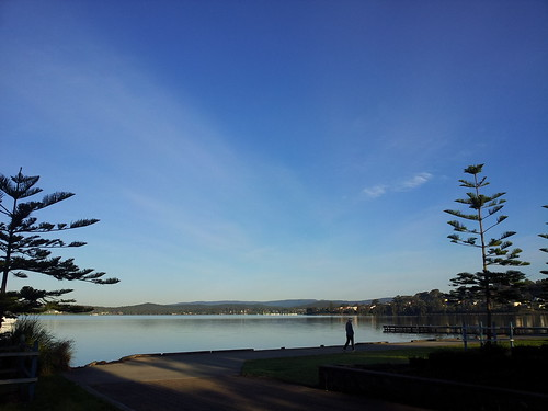 Warners Bay Foreshore morning sunrise