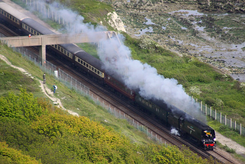 Golden Arrow Statesman, Folkestone Warren, 19 May 2012