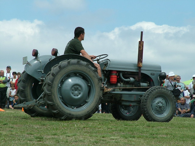 1956 Massey Ferguson 40 Tractor : Massey ferguson tef cadillac