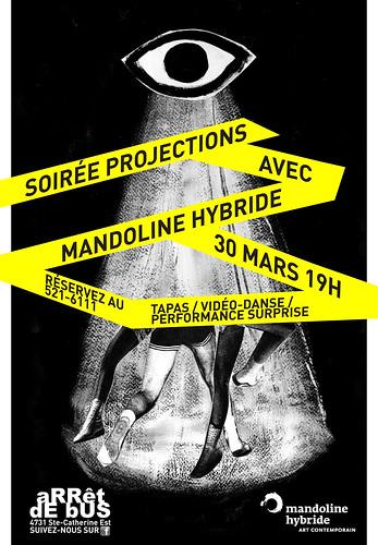 Soirée projection avec Mandoline Hybride