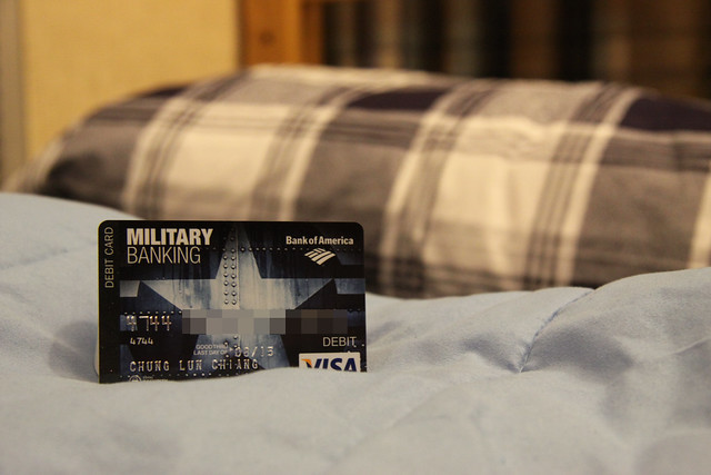 Bank of America Debit Card: Air Force