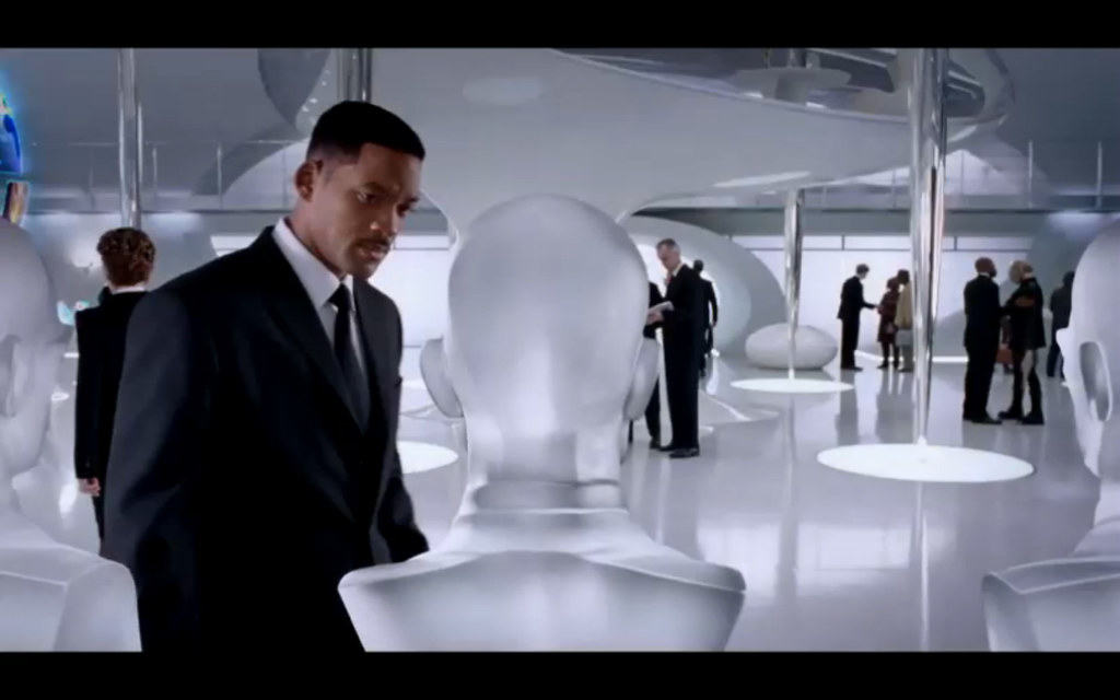 Men In Black 3 (MIB3) + 3sum Pods (Chairs)+ Will Smith
