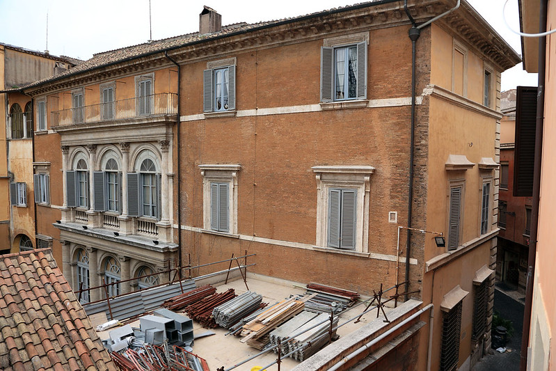 Rome apartment view