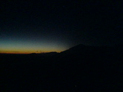 matahari mulai keluar