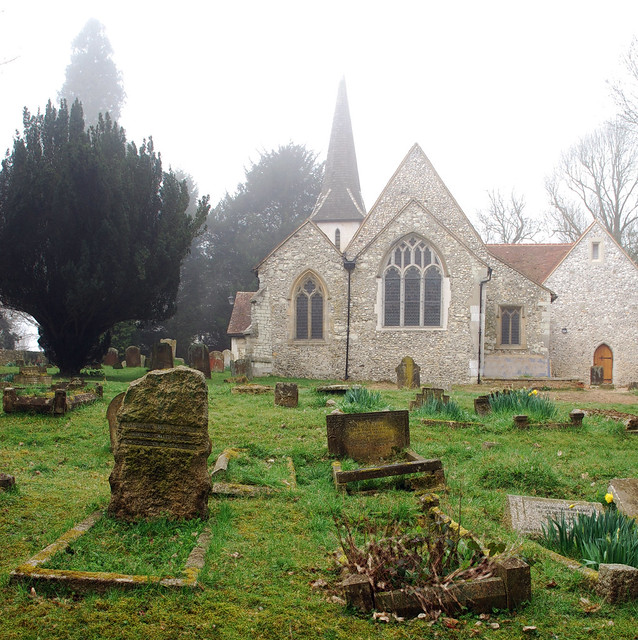 Chaldon Church, Caterham, Surrey