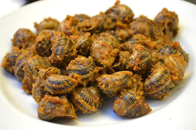 Marinated Snails, Pinotxo
