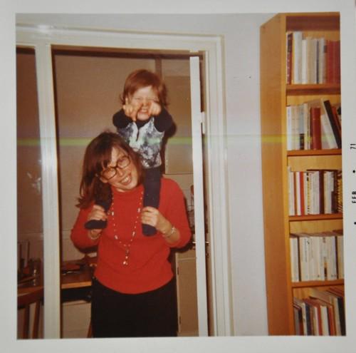 Mamma och jag 1970