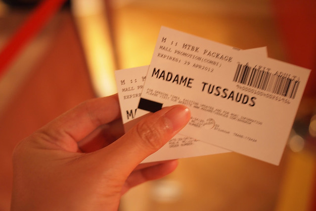 wax musuem tickets