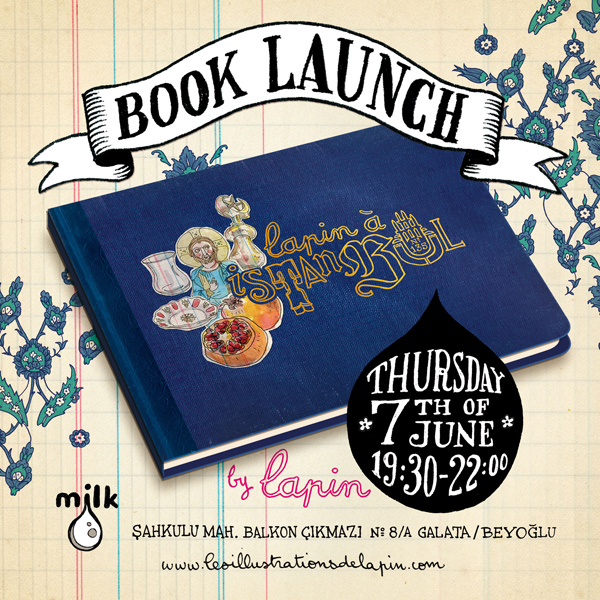 "book launch: ""lapin à istanbul"""