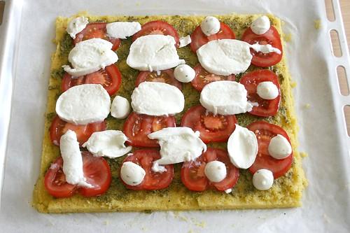 19 - Mozzarella hinzufügen / Add mozzarella