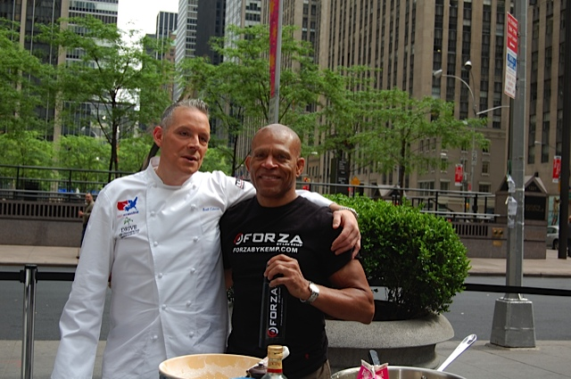 Chef Scott Cutaneo and Nutritionist Lee Kemp