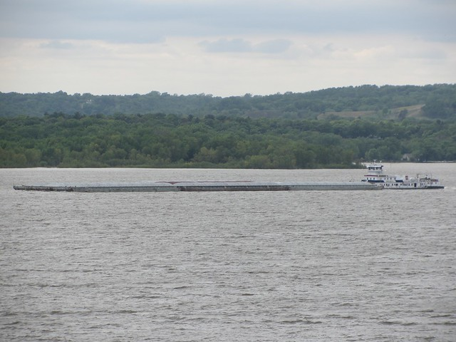 Mississippi Barge in Wisconsin