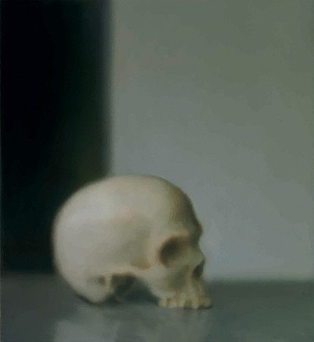 Gerhard Richter, Skull by re-Design
