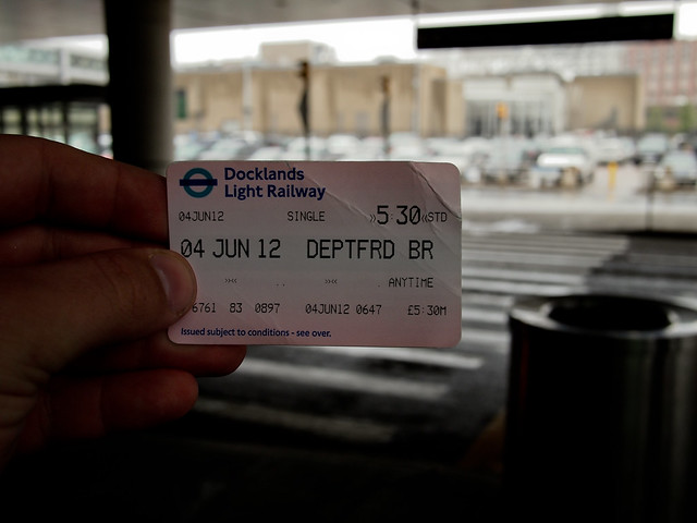 My Ticket Out of London