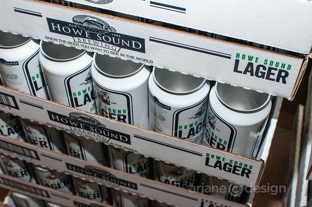 Howe Sound lager cans