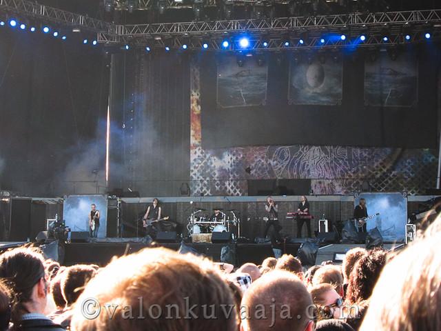 Amorphis | Sonisphere Finland 4.6.2012, Helsinki.