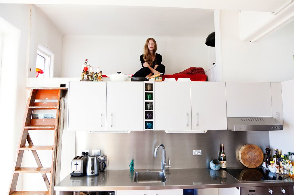 Фото как сделать кухню в комнате