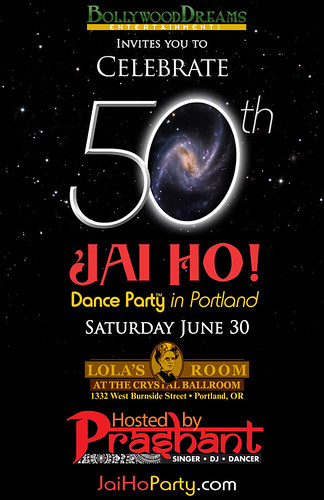 Jai Ho! Bollywood Dance Party @ Lola's Room