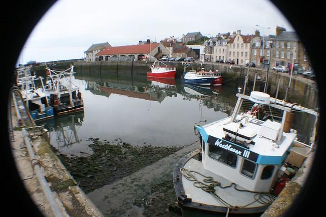 Pittenweem Harbour, Fife Coast