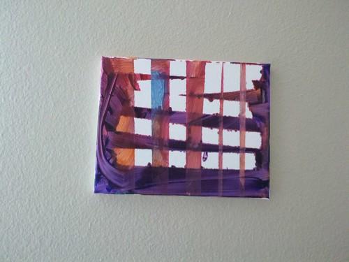 masking tape art