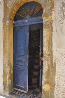 old door in the Jewish quarter of Essaouira 661