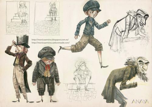 Bocetos Oliver Twist