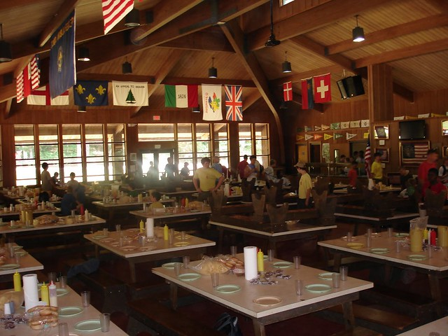Camp Sequoyah - Dining Room