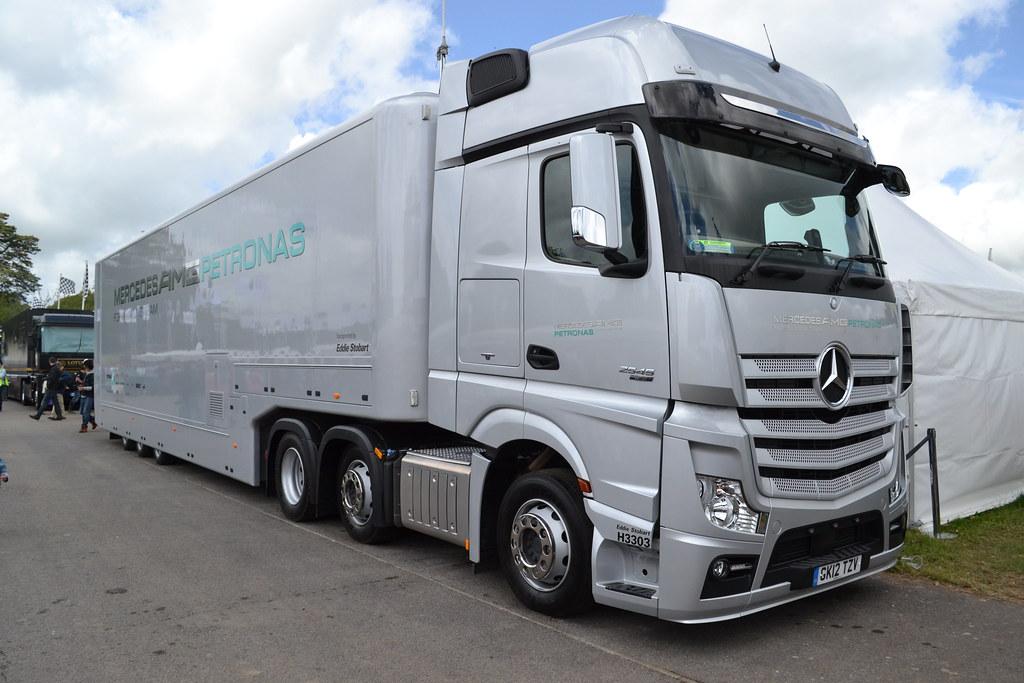 Mercedes AMG Petronas F1 Team Truck