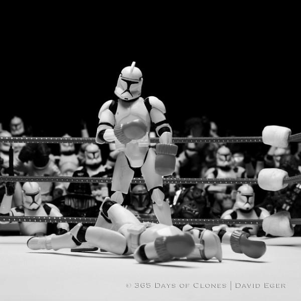 365 Days of Clones - Um dia uma pose para os Stormtroopers