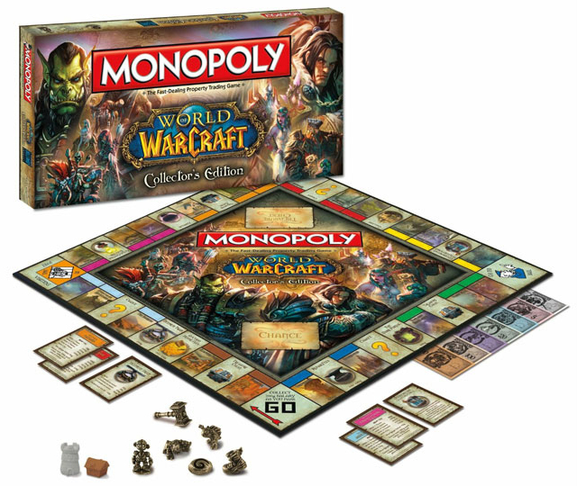 Monopoly, edición coleccionista World of Warcraft