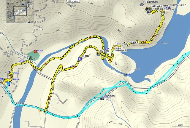 2011-12-24摩摩納爾步道map