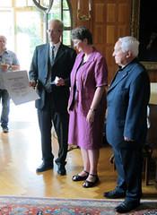 Ursula Kampmann recieves award