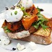 Day 183: Pumpkin, Danish Fetta & Rocket on Sourdough with Poached Eggs at Vue, New Farm