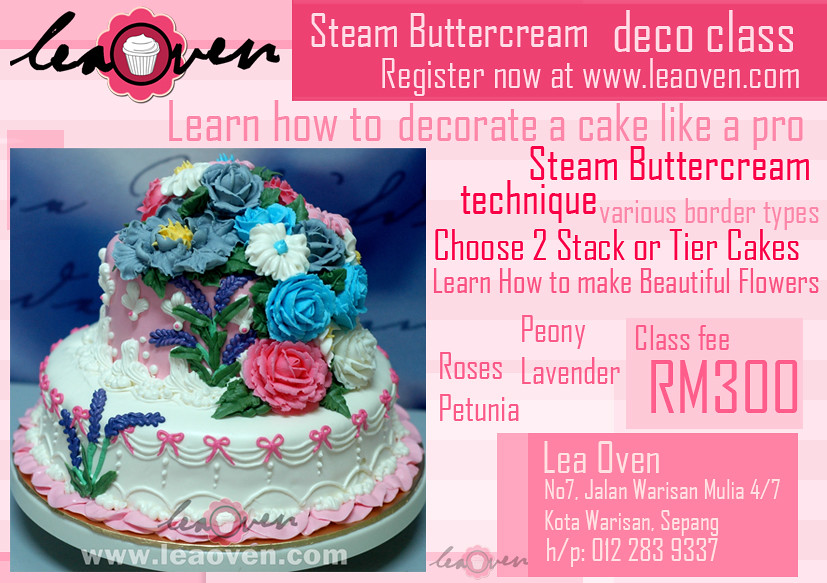 Steam Buttercream