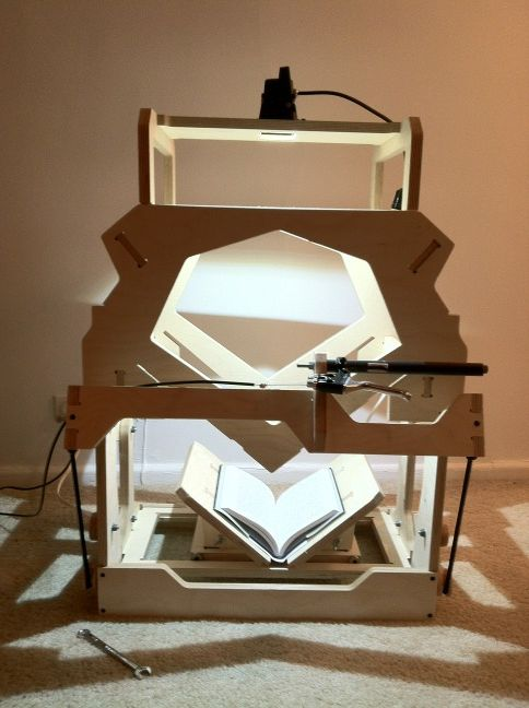 Diy Book Scanner The Goggles Do Nothing