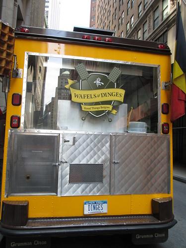 Wafels&Dinges, Food Cart, NYC. NuevaYork, Jul2012