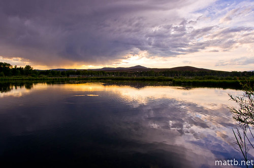 sky storm color reflection water yellow clouds colorado purple stormy gunnison