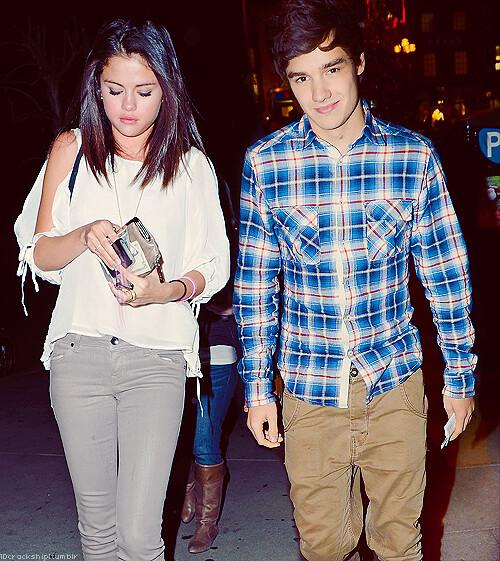 Selena Gomez and Liam Payne
