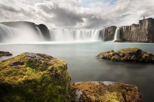 longexposure cloud water stone roc waterfall iceland paradise dream silk ridge akureyri godafoss mývatn goðafoss riverskjálfandafljót