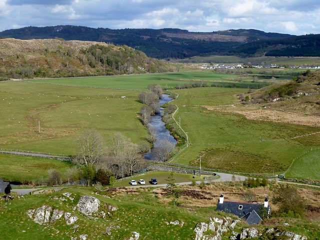 View from Dunadd Fort, Argyll