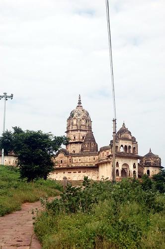 Der alte Laxshmi Tempel von Orcha