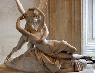 Another View of My Favorite Sculpture at Louvre, Paris and Interesting Story Behind It...